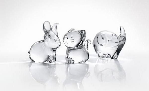 Baccarat Minimals Figurines